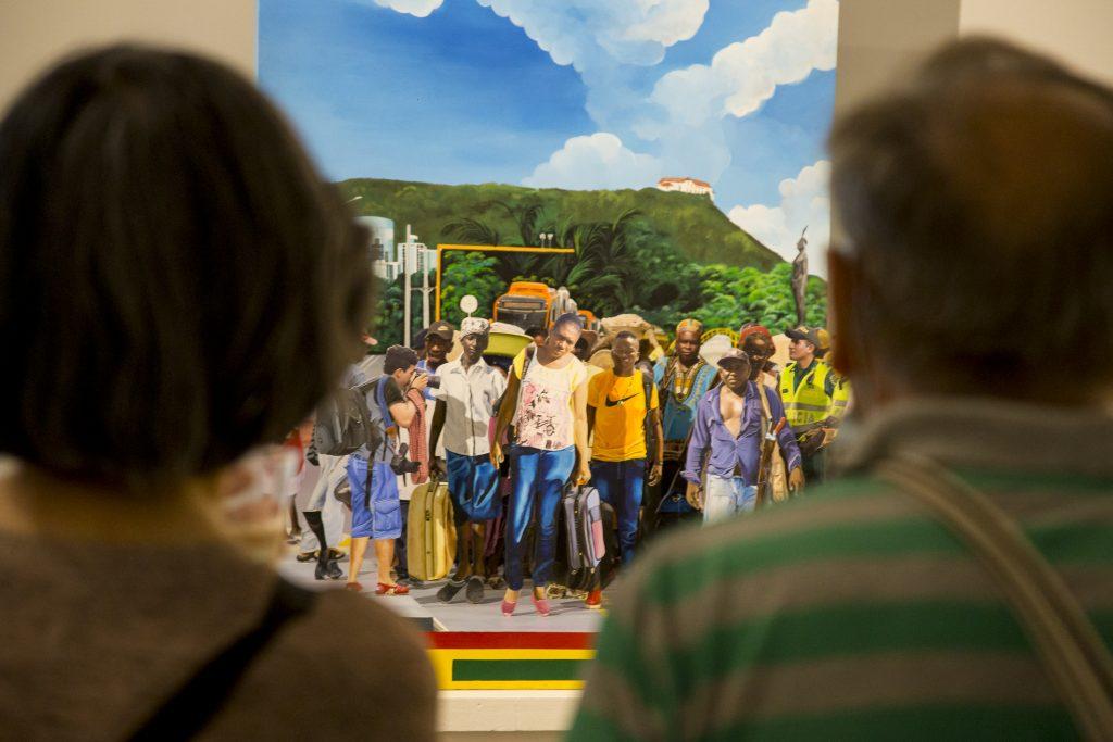 VI Salón BAT de arte popular en su itinerancia nacional  llega al Museo La Tertulia en Cali - Salon-de-Arte-Popular-22-abril-2021-Fotos-Leonardo-Linares-9-2-1024x683