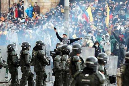 Duque se negó a firmar preacuerdo de garantias a la protesta - colombia-protesta_
