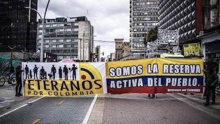 """Militares retirados no comparten militarización de la protesta Rechazamos el mandato de """"Asistencia militar"""" - veteranos_1"""