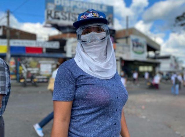 El régimen paramilitar colombiano ordena el genocidio juvenil para desmovilizar el Paro Nacional - resistencia-juvenil-Cali-I