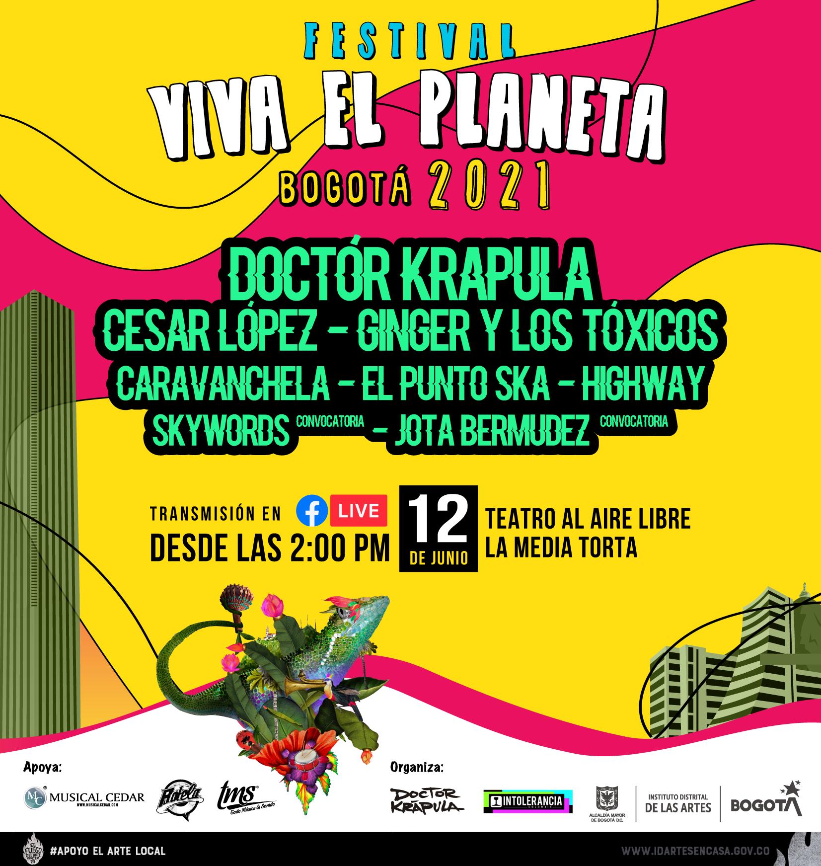 Agéndate con el Festival Viva el Planeta Bogotá 2021 - unnamed
