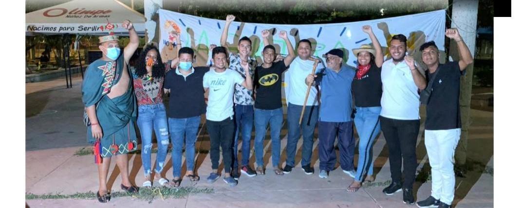 Suspenden huelga de hambre y establecen hoja de ruta y mesas temáticas En La Guajira, huelguistas de hambre obligan al gobierno a negociar - IMG-20210721-WA0326