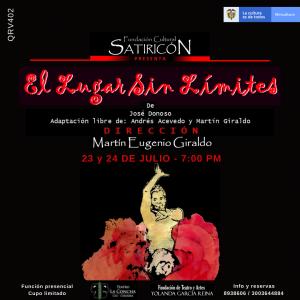 """Fundación Cultural Satiricón  Presenta:  """"El lugar sin Limites"""" - Post-El-lugar-sin-límites-FINAL-300x300"""