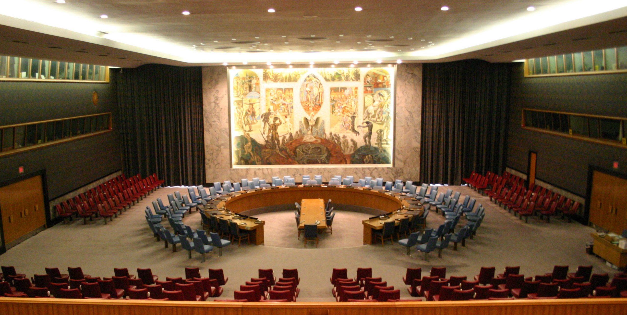 Comunicado de prensa del Consejo de Seguridad de las Naciones Unidas sobre Colombia - United_Nations_Security_Council-scaled