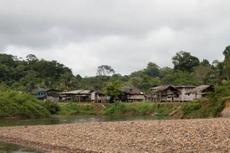 Por presencia paramilitar Comunidad del resguardo indígena Wounaan en el Chocó, se encuentra confinada - res_