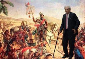 Vargas Llosa da la Bienvenida a Hernan Cortés el Libertador. Montaje Yuma. - Vargas-Llosa-da-la-Bienvenida-a-Hernan-Cortes-el-Libertador.-Montaje-Yuma.-300x208
