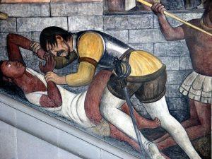 Violación. Mural de Diego de Rivera. México. - Violacion.-Mural-de-Diego-de-Rivera.-Mexico.-300x225